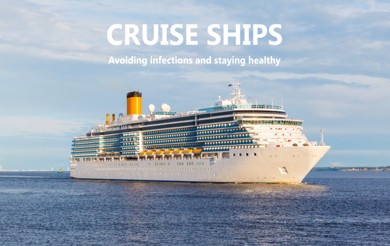 preventing infections on cruise ships