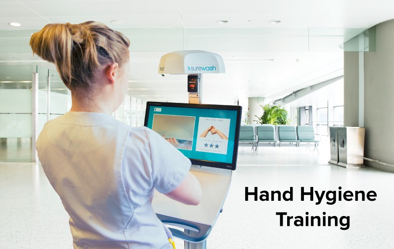 Technology for hand hygiene training